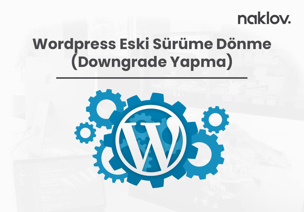 WordPress Eski Sürüme Dönme (Downgrade Yapma)